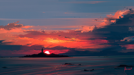 Close to the Sun by Aenami