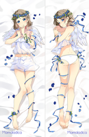 Dakimakura Commission ~Watanabe You~ [Love Live] by Marmaladica