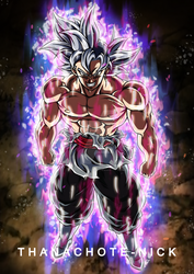Goku Black Ultra Instinct [Aura and BG] by Thanachote-Nick