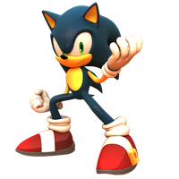 SONIC FORCES Render: Collab with InfiniteDXI by TBSF-YT