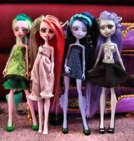 Monster High CAM Girls by Brett1486