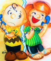 Charlie Brown and Peppermint Patty by Blossom-fur7