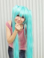 Are you ready? (Miku Hatusne, Vocaloid, Casual) by Doriri-chan