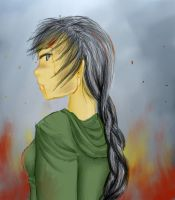 The Girl Who Was On Fire by mcgabby1994