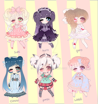 LOLITA ADOPTABLES by minnoux