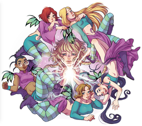 We are W.I.T.C.H. by Askeryna