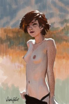 Freckles by whiskypaint