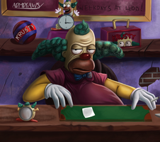 Krusty by admdraws