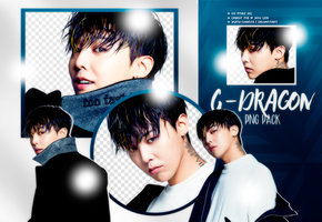 PNG PACK: G-Dragon #1 by Hallyumi