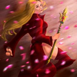 Rose Witch by MaleksArt