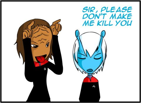 How to Piss Off an Andorian by urasei