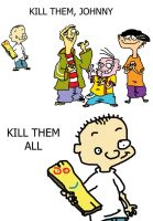 Ed, Edd n Eddy Comic by Matthew0wns