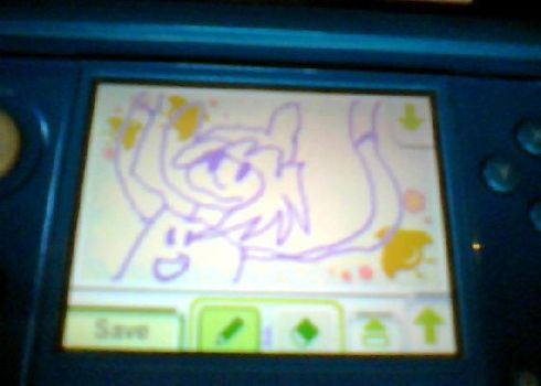 Fionna On the 3ds I made (swapnote) by LittleKidsDraw