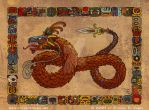 Mesoamerican Dragon by vulgardragon