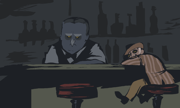 owl bar by Spoonfayse