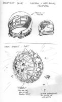 Reboot - Helmet and Dyson Sphere by SteamPoweredMikeJ