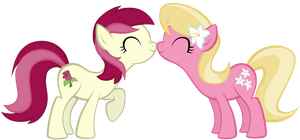 Roseluck and Lily by Petraea