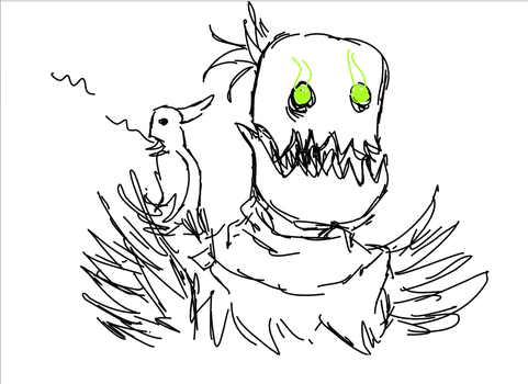 FiddleSticks Drawing No.2 by Sirshelly