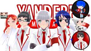 [MMD] Council Club Genderbend [NOTE DL] by MAEB136