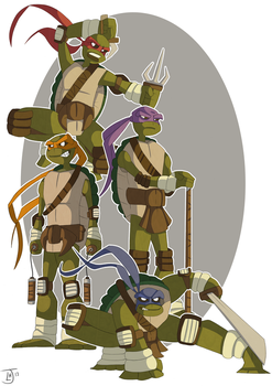Heroes In A Half Shell by Jambo86