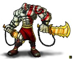 Ultra Kratos by CoopahCraft