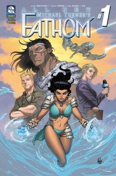 FATHOM VOL.6 - COVER #1 by MarkReindeer