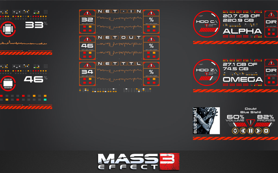 Mass Effect 3: Project Omega Skin [2.2] by imperialfist91
