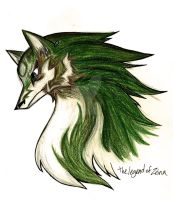 Wolf Link by TheLegendofZeina