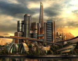 The City of Future by e-designer