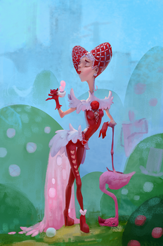 Queen of Hearts by EiliEnie