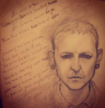 RIP Chester by Yanako1993