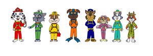 The Paw Patrol In My Style by TheEvstar