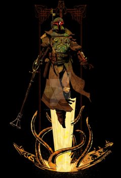 bounty hunter rising by BrianKesinger