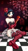 Veronicas Queen of Hearts by bw-inc