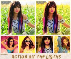 Action Hit the Ligths by ReachToLovato