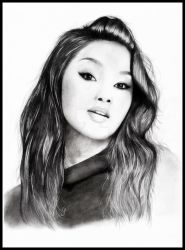 Lana Condor by loic-drawing