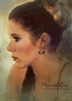 Princess Leia by Kot1ka