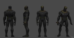 Killmonger - (Black Panther Movie) CoC by SSingh511