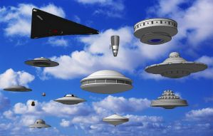 Watch the Sky - SketchUp 3D UFO Collection by Shadowstate