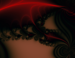 Fire and black lace revised by teddybearcholla