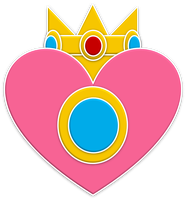 Peach Monarchs Emblem by RafaelMartins