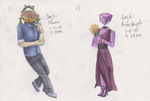 30 Day ObjectHead Challenge - Day 5 and 6 by OatsAndToast