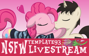 NSFW livestream Banner by Template93