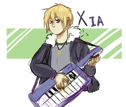 Xia My Boy by thepinkprince