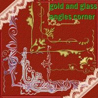 gold and glass corner by roula33