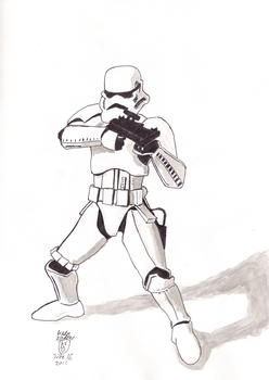 Stormtrooper by Brady-Kj