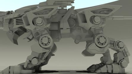 Project Liger Zero 2011 - 04 by 3DRaptor