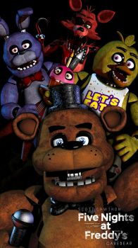 Five nights at freddys 2018 by GareBearArt1