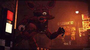 The Reynard charge (fnaf sfm) by JR2417