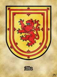 Arms of Scotland by Undevicesimus